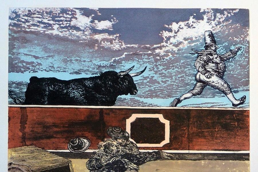 Мануэль Алькорло - печать, живопись, графика