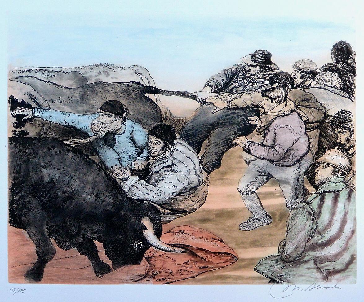 Alcorlo-Manuel-Tirando-del-rabo-grabado-aguafuerte-aguatinta-color-edición-175-ejemplares-numerado-y-firmado-a-lápiz-plancha-34x4350-cms.-y-papel-51x62-cms.-3.jpg