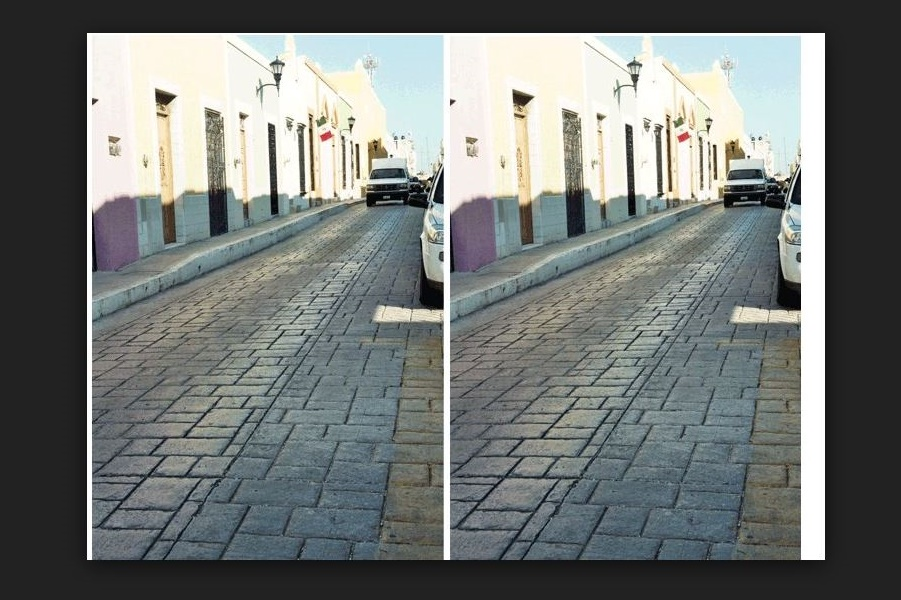 Are these roads parallel? New optical illusion - break your brain