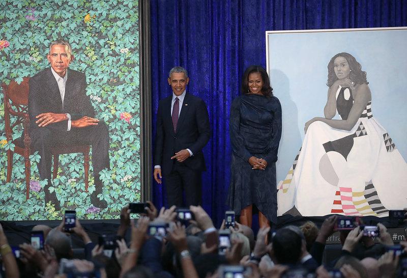 «Я просил уши поменьше, но в этом мне отказали»…. Первые портреты четы Обамы Мишель, портрет, Рузвельт, Шералд, когда, Обама, портреты, Барака, Обамы, который, президент, знает, также, Сарджента, чтобы, изящество, работы, Теодор, Джонсон, портретов
