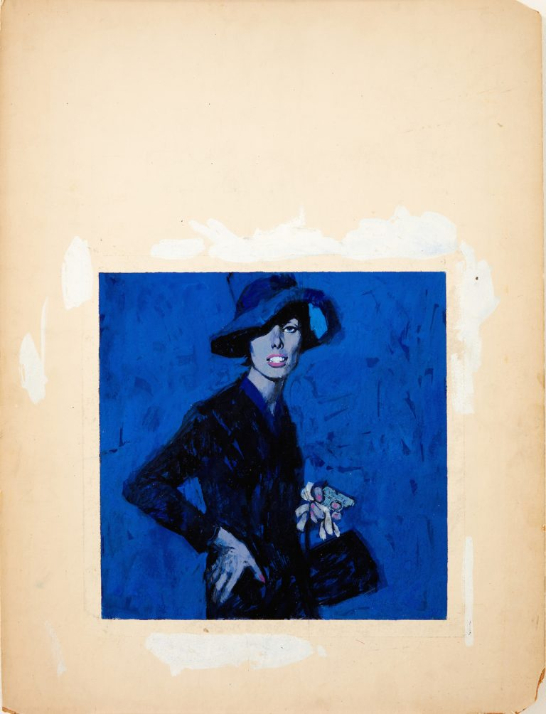 Renato-Fratini_-Lady-in-Blue_c1960s_-gouache-on-board_copyright-Lever-Gallery_AW-768x1004.jpg