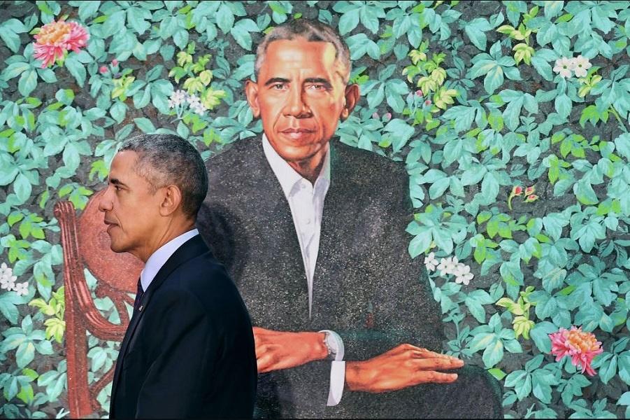 Был ли произведен президентский портрет Барака Обамы в Китае?