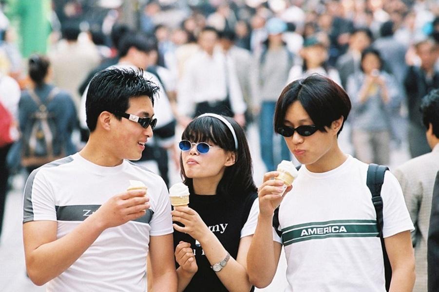 1990-е годы, Южная Корея: в 90-е корейцы были одержимы модой