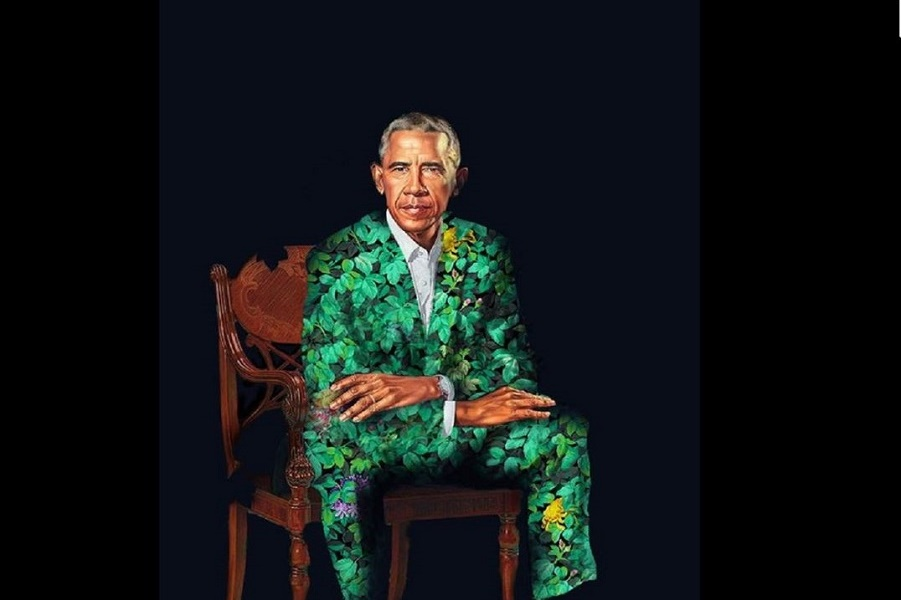 Интернет про официальный портрет Обамы - комедийная реакция на картину