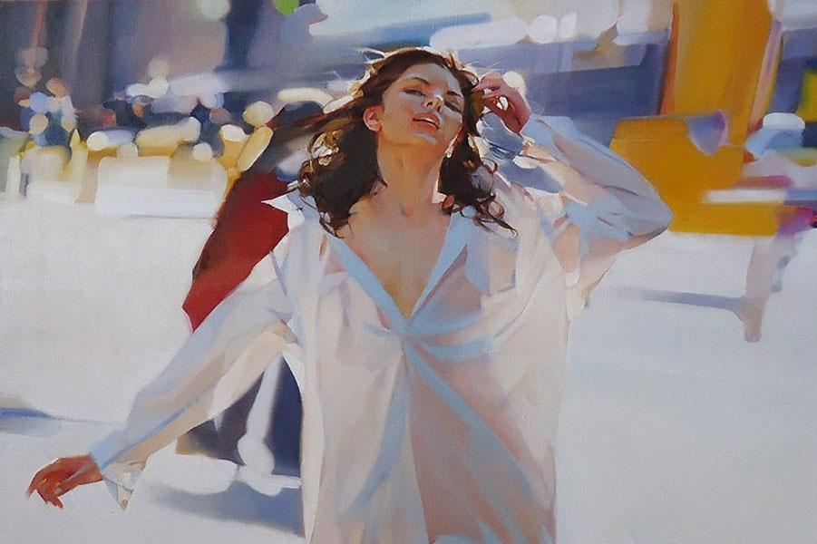 «Доброе утро, красивая женщина»: Чувственные картины Алексея Чернигина