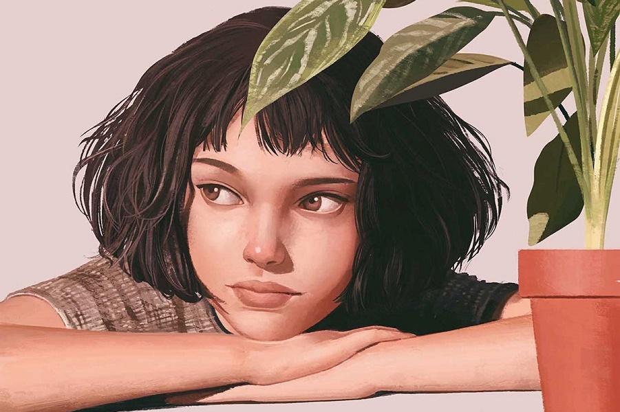 Иллюстрированные портреты Дженис Сунг