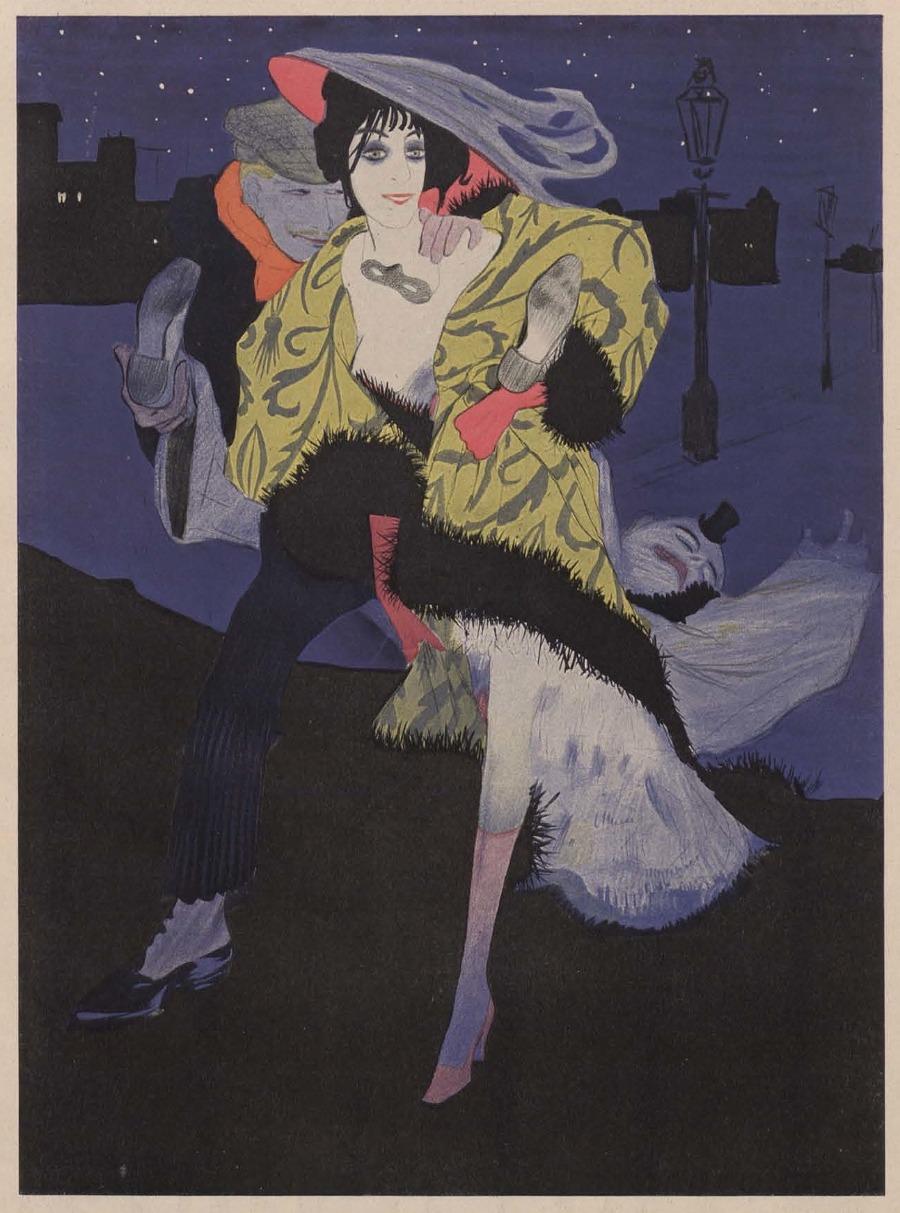 05 Walter Schnackenberg- Zeichnung zum Gedicht -Ballade-- from a 1912 issue of Simplicissimus_900.jpg