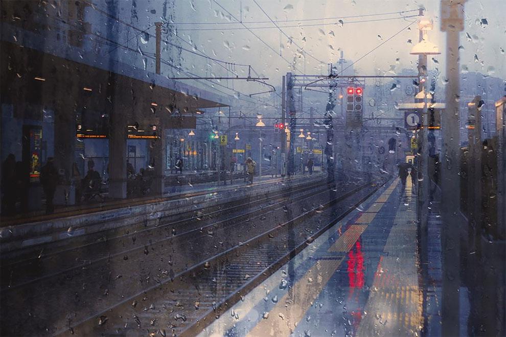Простой весенний дождь
