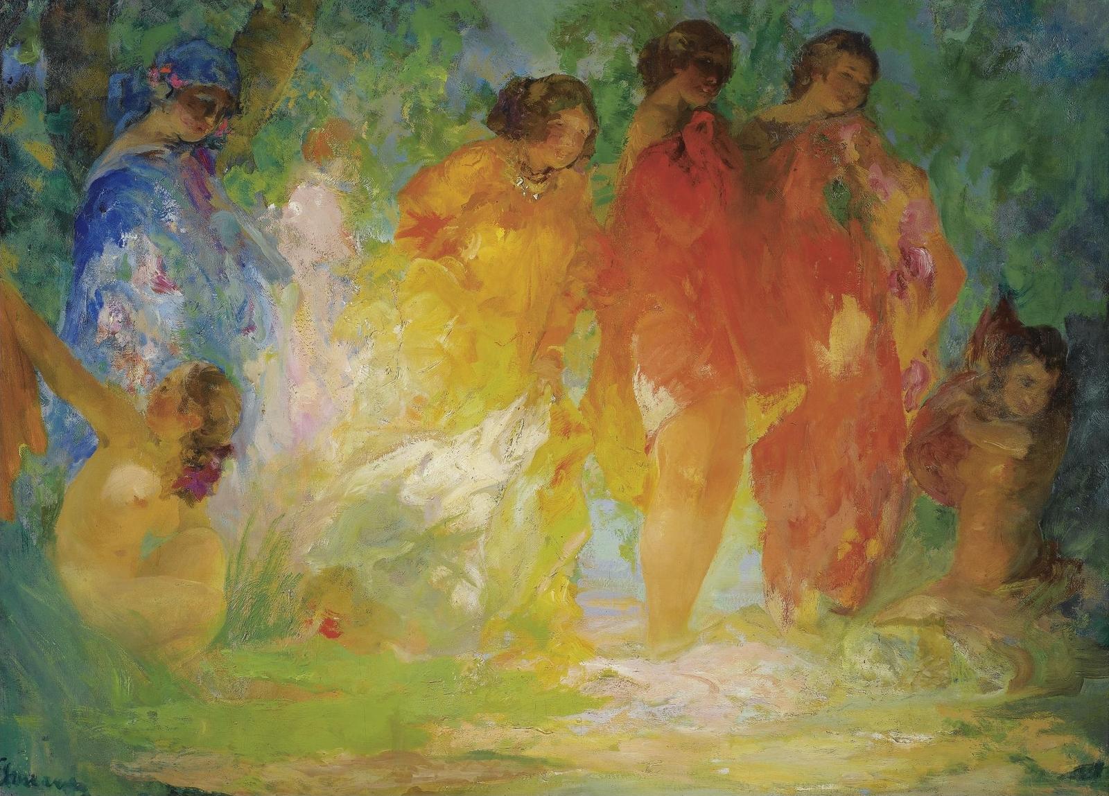 Купальщицы (The Bathers)_89 х 125_х.,м._Частная коллекция.jpg