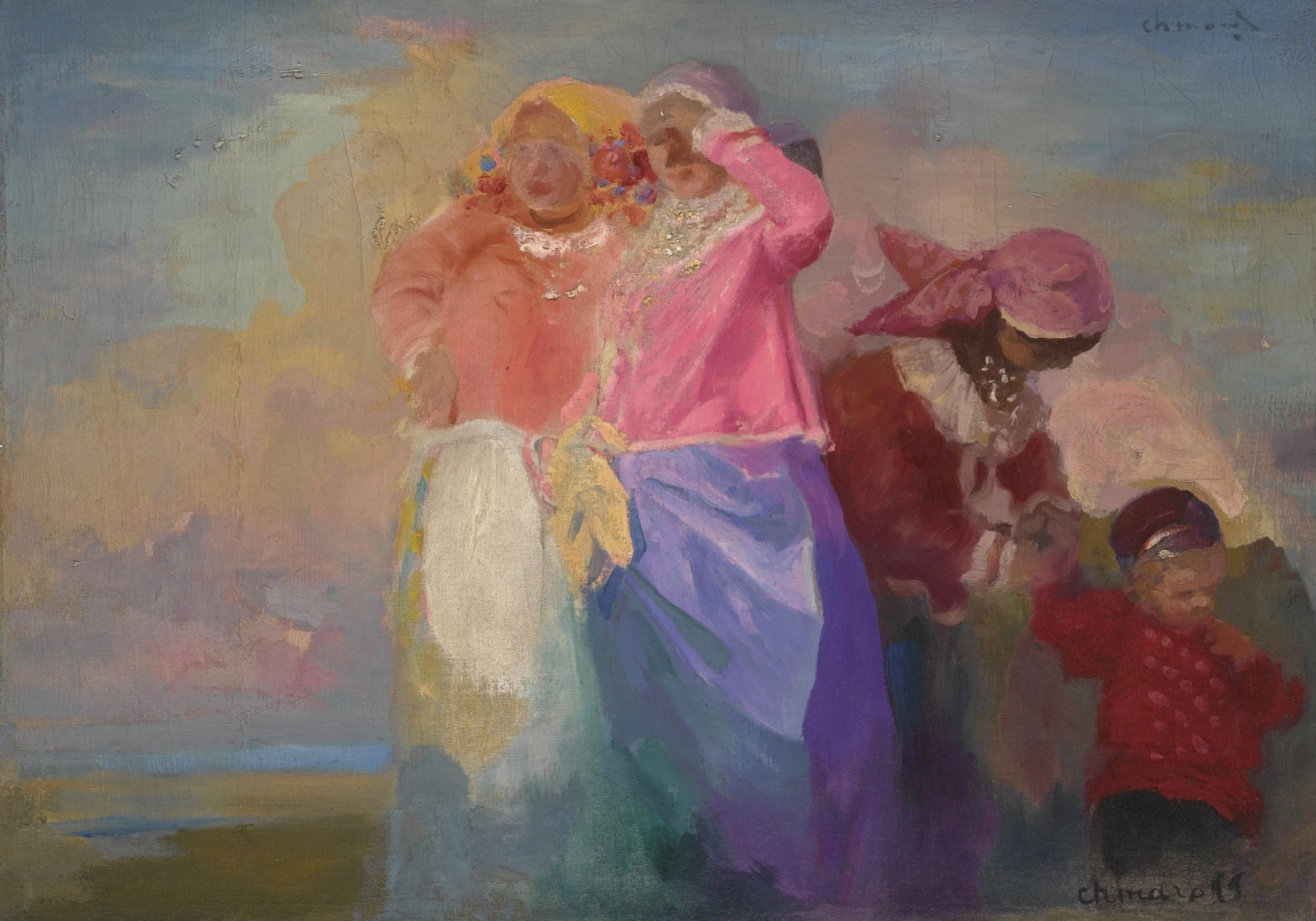 Русские женщины (Russian Women)_65.5 х 92_х.,м._Частная коллекция.jpg