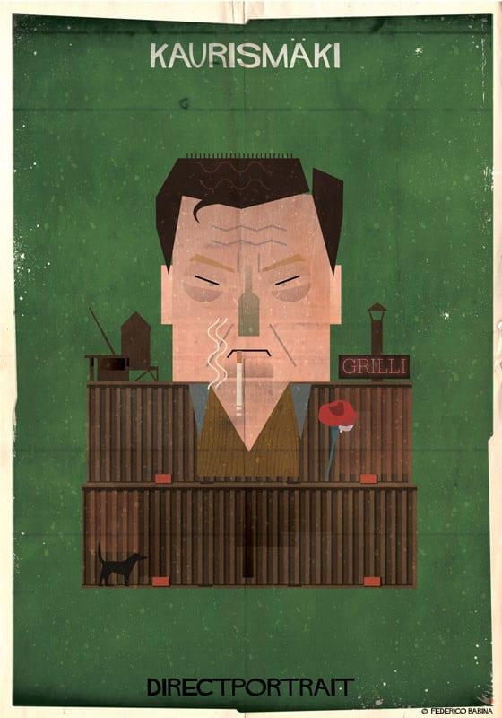 Парейдолия в портретах знаменитых кинематографистов от Федерико Бабина Бабина, художник, объясняет, фильмы, известных, каждая, портрет, Итальянский, «Метафора, состоит, Каждый, мозаики», компонентом, ключевым, является, мелочь, мысль», работу, описывает, элементов