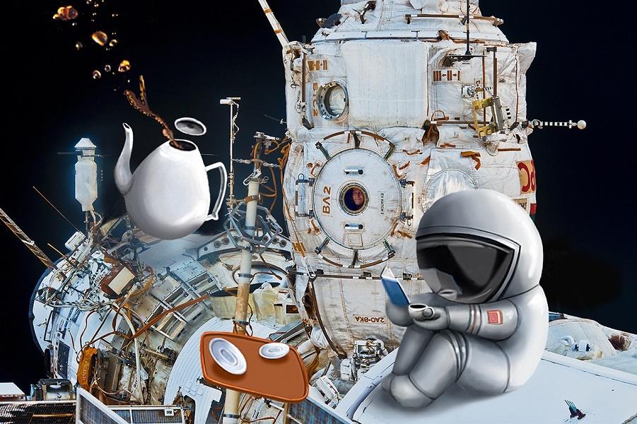 Мужественные образы российского космического агентства