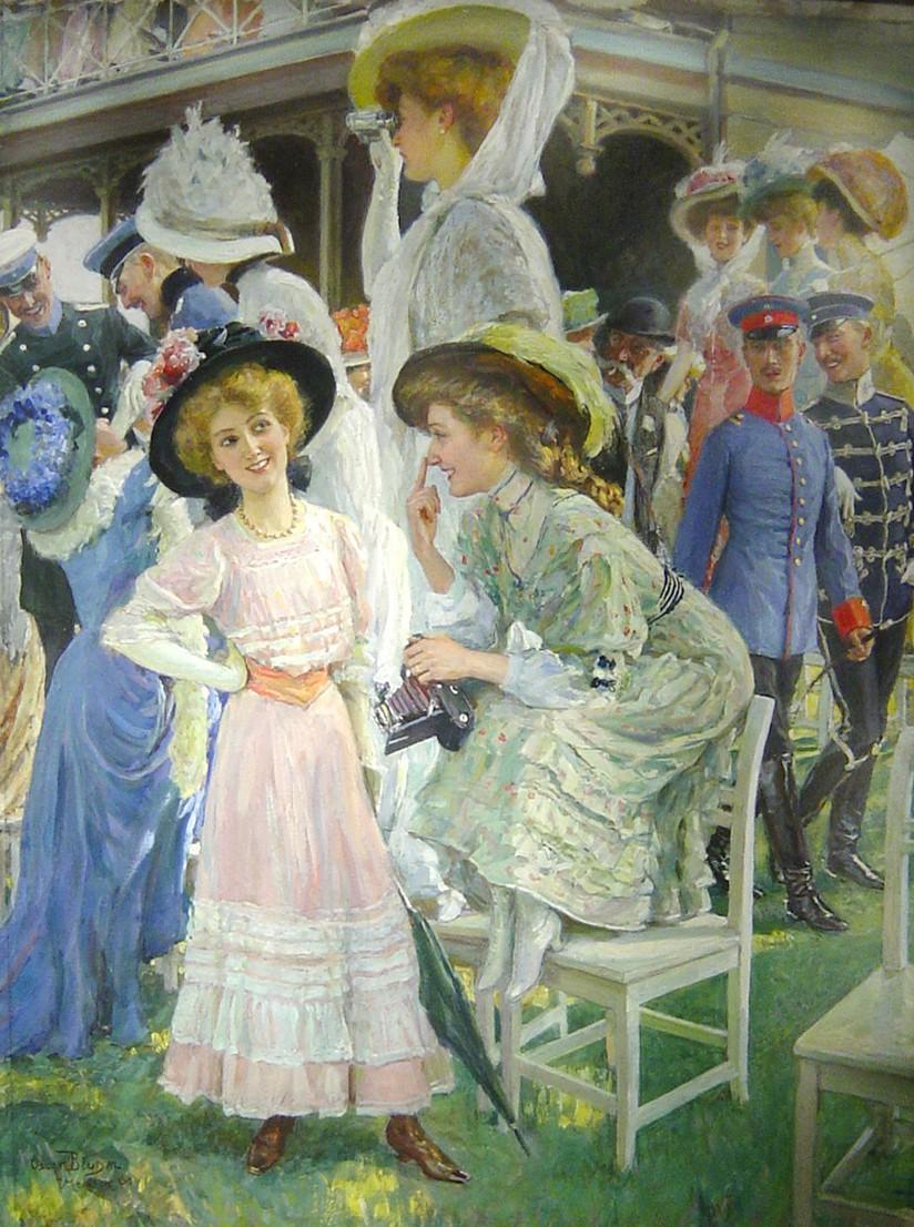 1_Дамы на скачках (Elegant Ladies at the Races)_43.2 х 33_х.,м._Частное собрание.jpg