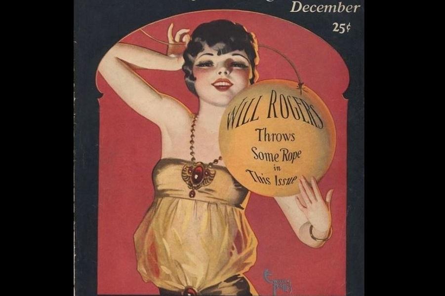 Sexy девочки пин-ап, иллюстрированные Enoch Bolles. Из эпохи Art Deco