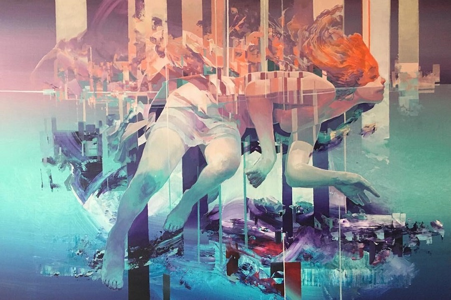 Драмы разворачиваются в картинах и фресках Роберта Проха