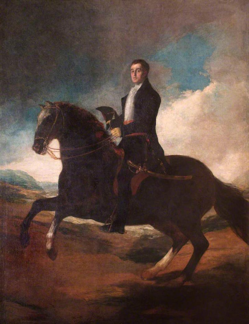 Equestrian Portrait of the 1st Duke of Wellington (1769-1852)