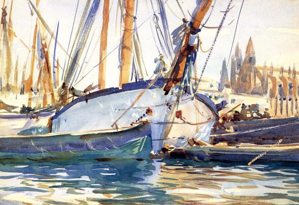 Sargent_John_Singer_Shipping_Majorca