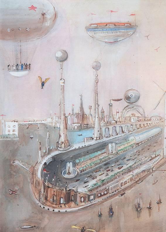 Город Будущего. 1935 год.