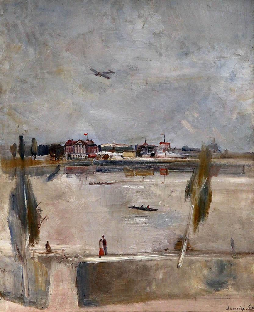 На Москве реке. 1932.