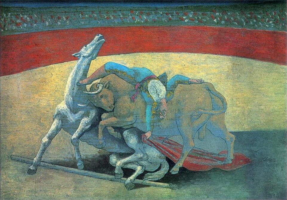 Pablo Diego José Francisco de Paula Juan Nepomuceno María de los Remedios Cipriano de la Santísima Trinidad Ruiz y Picasso known as Pablo Ruiz Picasso (Spanish 25 October 1881 – 8 April 1973) was a Spanish expatriate painter, sculptor, printmaker, ceramic