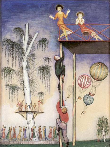 Настил для танцев. 1922.