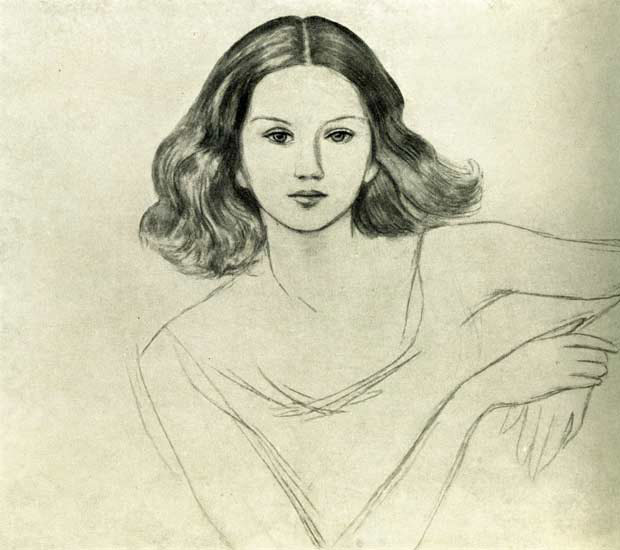 Ингрид Дардель. 1940.