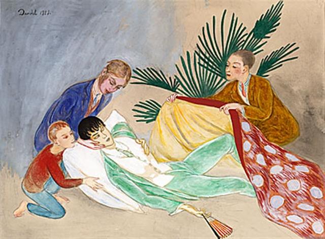 Умирающий денди. 1924.