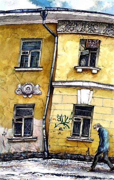 Четыре окна в Сверчковом переулке