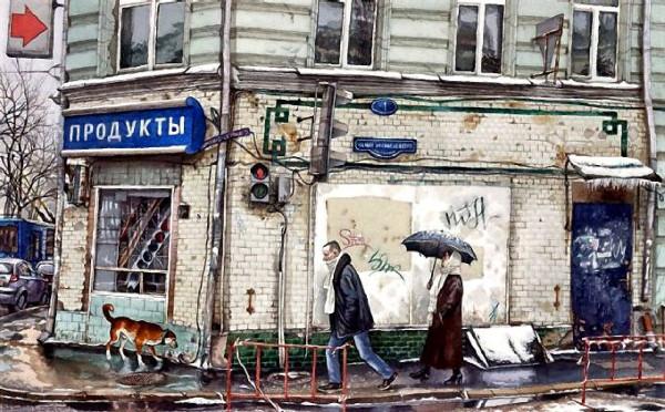 Малый Афанасьевский переулок
