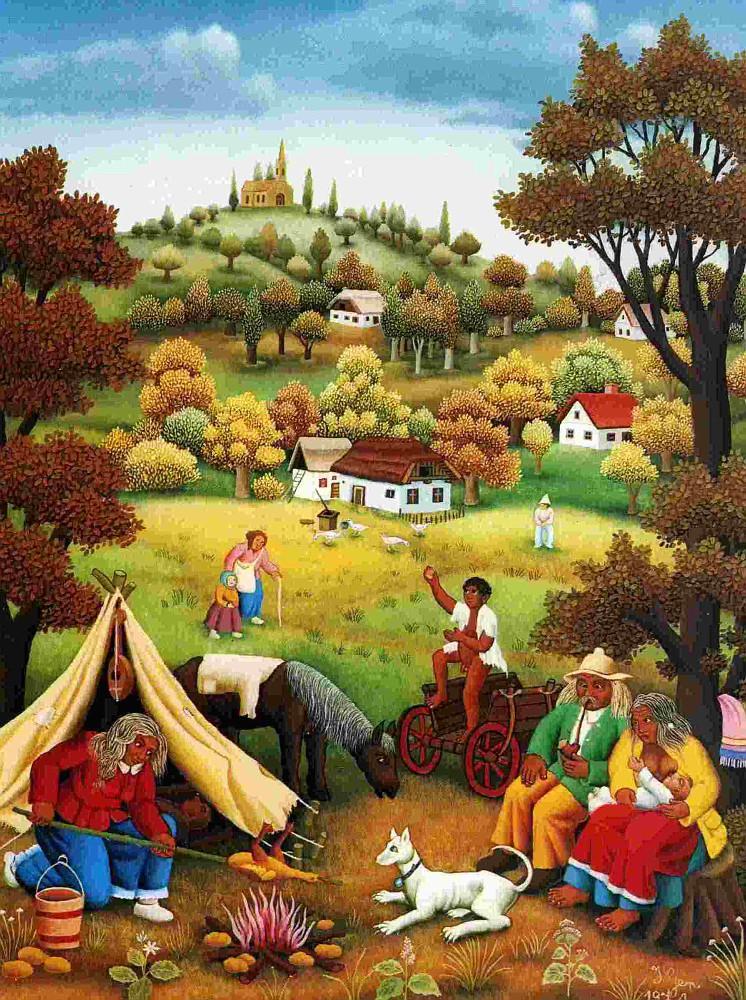 Цыганский праздник