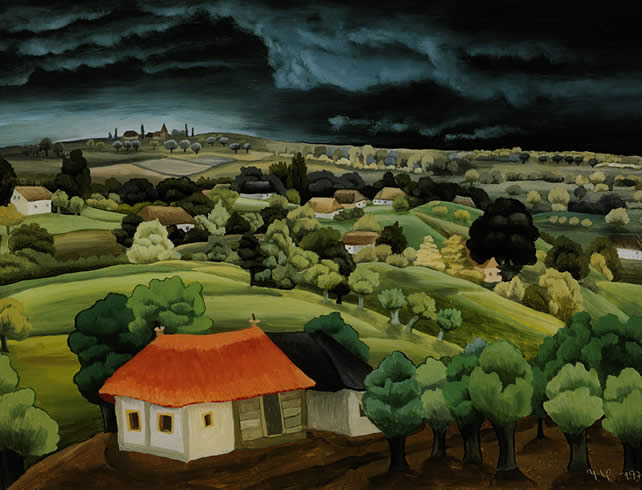 Пейзаж, 1939