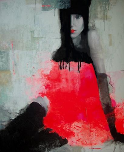 Дама в красном 2008