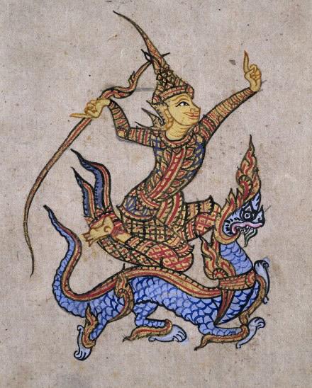 L0023334 Thai manuscript 7, Divination