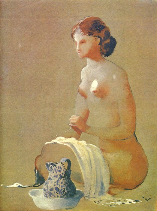 «Натурщица с кувшином» 1932