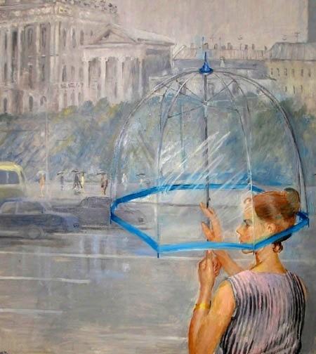 «Прозрачный зонтик»