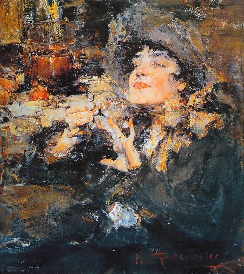 (Портрет m-lle Жирмонд) (1917)