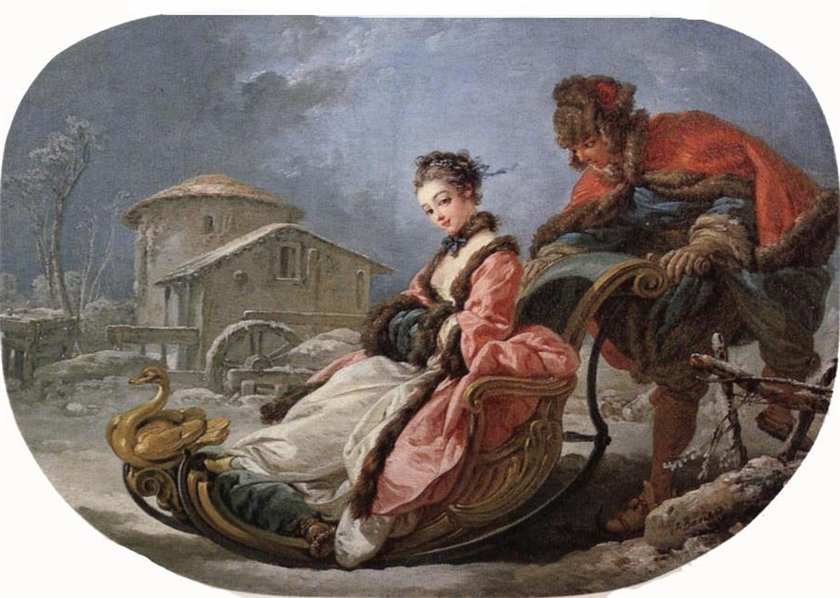 Boucher, François - Winter