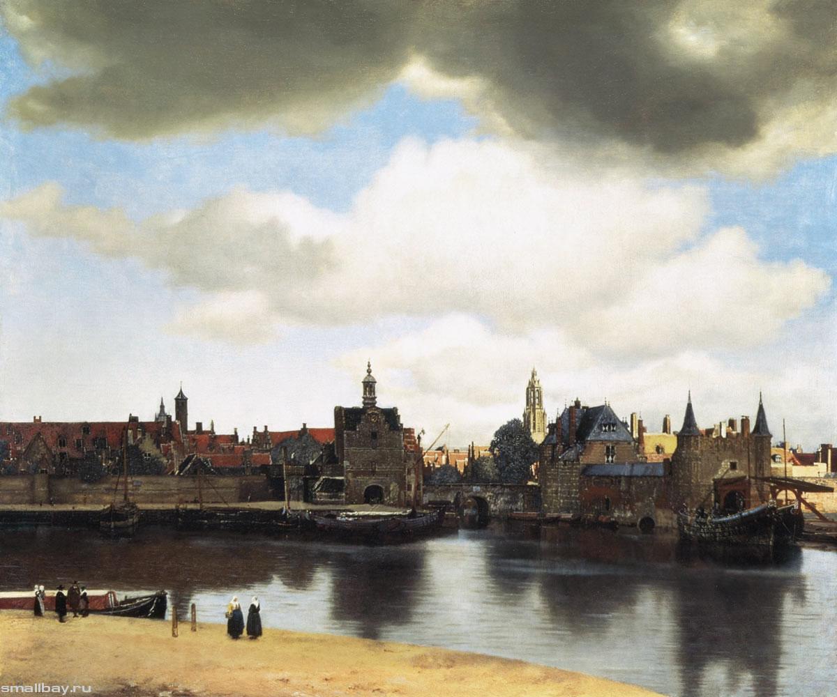 Вид города Делфта, 1658-1660