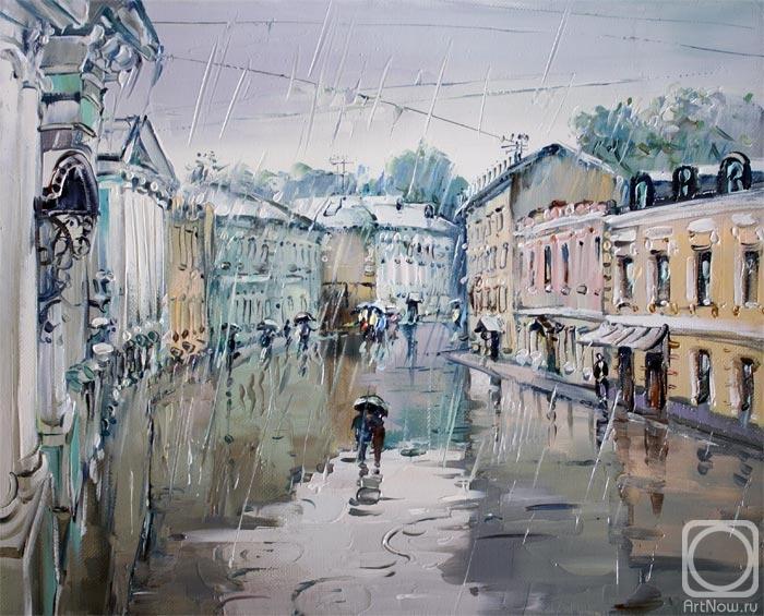 Дождливая Москва