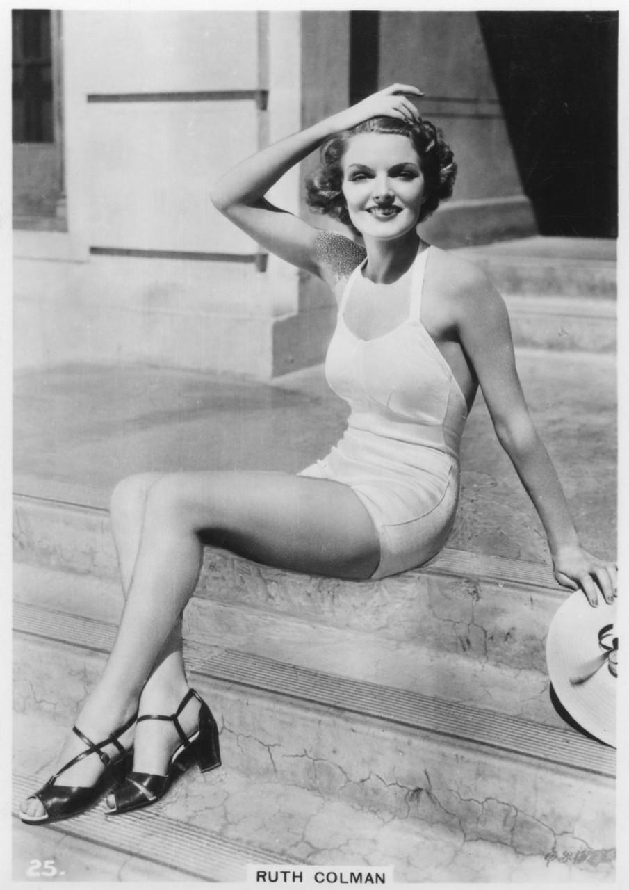 Ruth Colman, c1938.