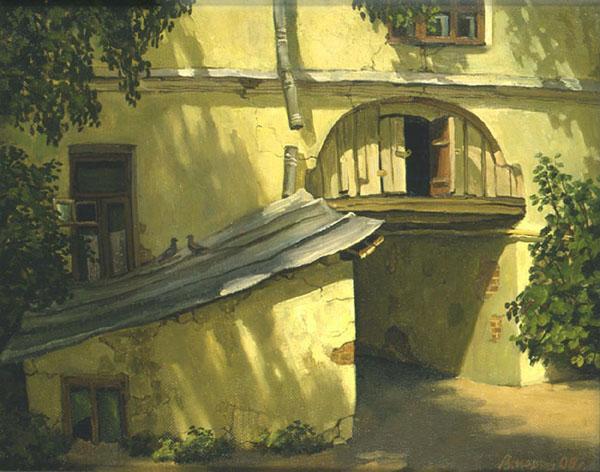 Арка в Печатниковом переулке