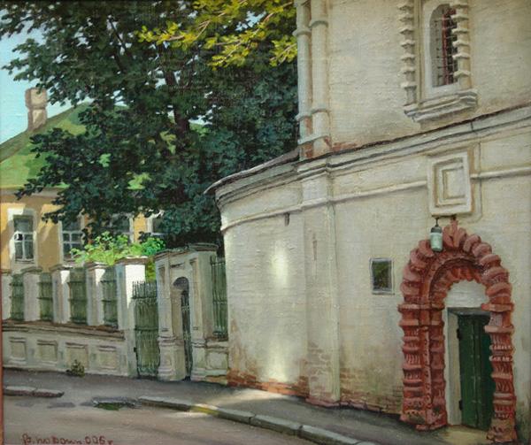 В Черниговском переулке