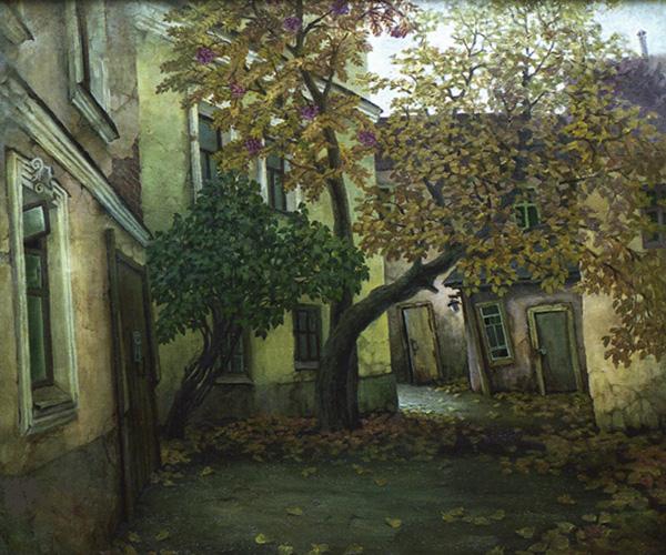 Двор в Ивановском переулке