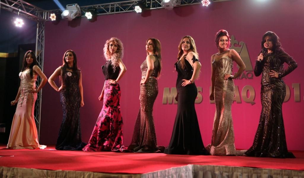 Mideast Iraq Miss Iraq