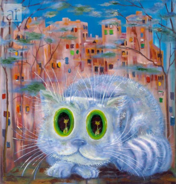Большой питерский кот