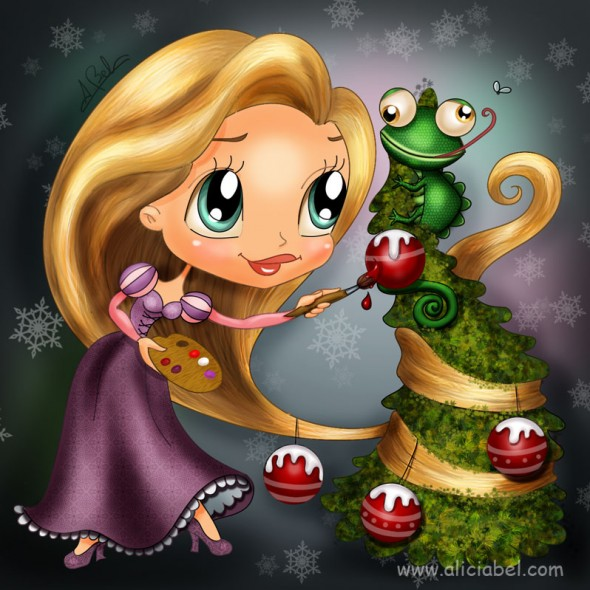 9_illustration_on_a_christmas_theme-590x590