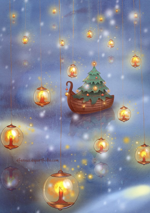 31_illustration_on_a_christmas_theme-590x837