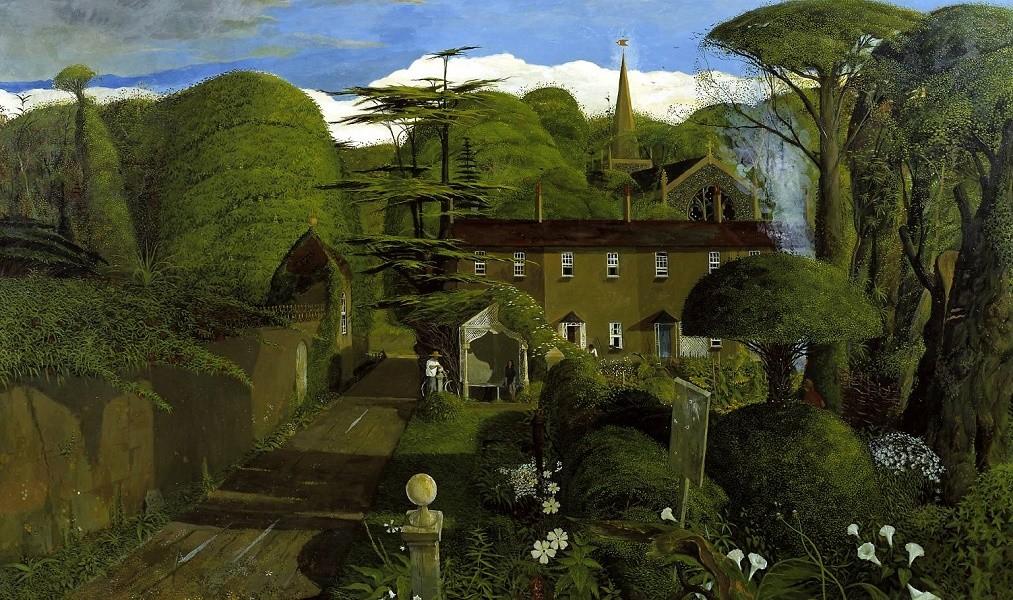 Annunciation 1968 by John Shelley born 1938