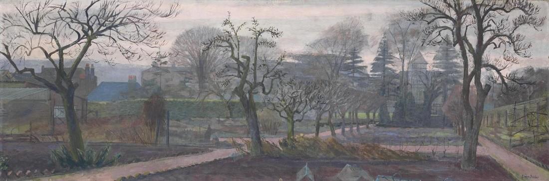 Winter Garden c.1929-37 by Evelyn Dunbar 1906-1960