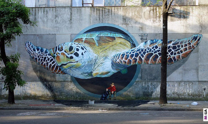 Martin Ron. Буэнос-Айрес, Аргентина